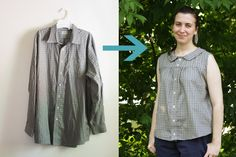 Don't have a lot of cash? Or time? Get one of your boyfriend's or father's old shirts, make sure it's not one of his favorites (or do if it belongs t...