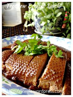 Scrumptious kuching braised duck lo ark south east asia teochew braised duck or lor ark forumfinder Image collections