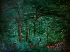 A Midsummer Day's Dream print image of original by TwigStudioArt, $10.00