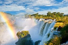 Iguazu Falls, Argentina/Paraguay/Brazil If you're heading for a fall, do it in style. Iguazu Falls is made up of 275 waterfalls to make up. Iguazu National Park, National Parks, Beautiful Places In The World, Beautiful Places To Visit, Beautiful Sites, Amazing Places, Beautiful Pictures, Lonely Planet, Cities In South America