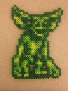 Gremlin bead sprite. Not my original, I found it on Google. Looks pretty cool so I had to make my own. - Imgur