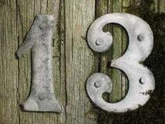 Thirteen fun facts about the number 13 (perfect for this year!)