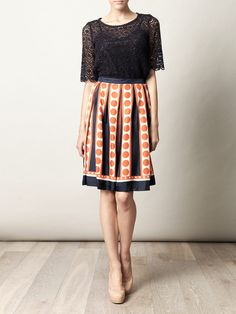 COLLETTE BY COLLETTE DINNIGAN  Georgina pleated skirt   £230.00
