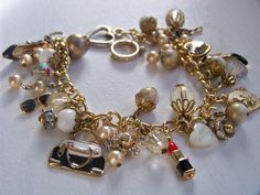 Vintage Fashion Charm Bracelet by MMVintageSweets