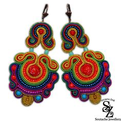 Soutache Jewellery by Soutache.deviantart.com