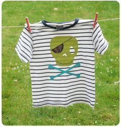 cute t shirt tutorial... I'd use different fabric though... but ya gotta love appliques