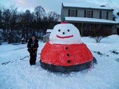 Unusual Snowmen