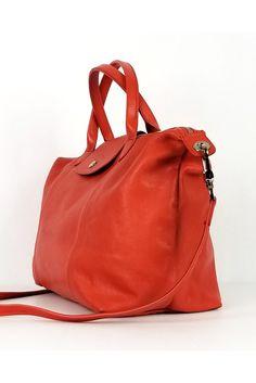 ea97e045330b SAINT LAURENT Calfskin Medium Emmanuelle Bucket Bag Nude Powder ...