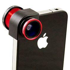 fisheye, wide angle, and macro lens for iPhone.. I NEED!