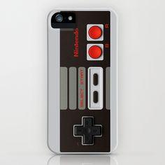 Old school Nintendo controller iPhone case iPhone Case by Nicklas Gustafsson - $35.00