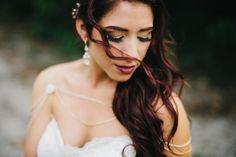 Woodsy Boho Wedding at The Winter Park Farmers' Market | Orlando Wedding Photographer | Boho Bride | Jeweled Bridal Bolero