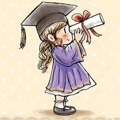 Cute Cartoon Pictures, Cartoon Pics, Cute Cartoon Wallpapers, Cartoon Drawings, Cute Drawings, Graduation Cartoon, Graduation Images, Cartoon Kunst, Owl Cartoon