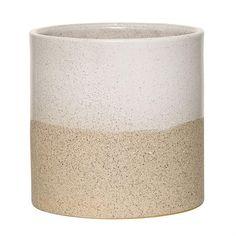 Small Stoneware Barbara Flower Pot