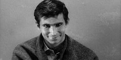 Source: Universal Pictures.  Tony Perkins, in Psycho.