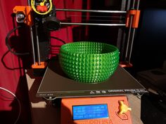 Bowl with the rugged surface printed on the Original Prusa i3 MK3S by Printixx #prusai3 #practical