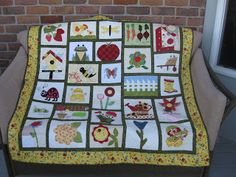 Pieced Brain: Our Garden Quilt