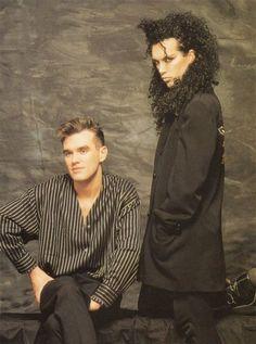 Morrissey & Pete Burns' Unlikely Friendship - Morrissey Pete Burns - 3