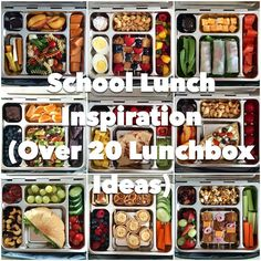 Annie's Eats lunchbox ideas--we don't take a lunch to school, but I bet I know someone who'd love to take these meals to ballet.