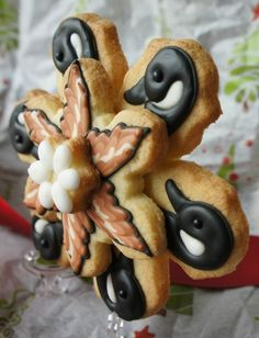 Twelve Days of Christmas Cookie Project - Six Geese a Laying - Sweet Adventures of Sugarbelle