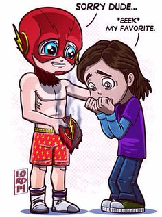 The Flash BARRY Cisco
