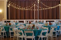 The reception room - loved the outdoor lighting as indoor decoration