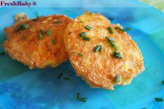 Karotten-Reibekuchen in unter 5 Min