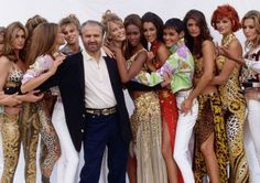 Gianni Versace's MODELS OF THE 80'S