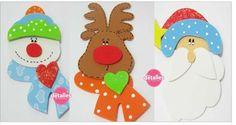 Colgantes Navideños Hechos Con Foami O Goma Eva – Aprende Con Diana Foam Crafts, Paper Crafts, Christmas Tree, Christmas Ornaments, Christmas Ideas, Gingerbread Cookies, Holiday Decor, Cards, Diy