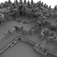 Low Poly 3D Models- levels