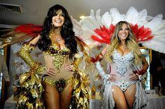 Carnaval Marisol González y Vanessa Huppenkothen, las bellezas del Carnaval de Veracruz 2013