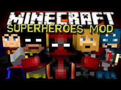 Minecraft Mods - SUPERHEROES UNLIMITED MOD!!