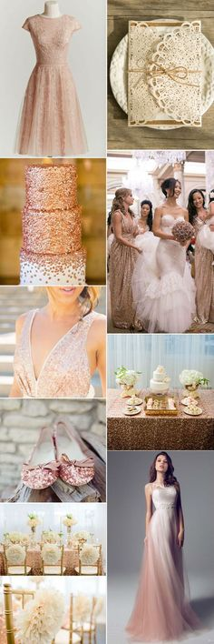 eye-catching glitter wedding ideas with glitter gold wedding invitations