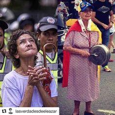 #Repost @lasverdadesdeeleazar with @repostapp  A ellas quién les viene a contar cuentos de camino mejor que cualquiera de nosotros saben que significa una dictadura