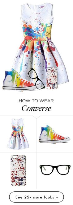 """Untitled#33"" by aliciastylinson on Polyvore featuring Converse, Muse and Marc Jacobs"
