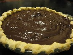 "Family's Secret Chocolate Pie Another pinner says,This is described as a ""family secret"" Chocolate Pie Recipe.Another pinner says,This is described as a ""family secret"" Chocolate Pie Recipe. Chocolate Pie Recipes, Chocolate Pies, Homemade Chocolate Pie, Chocolate Cream, Chocolate Meringue Pie, Chocolate Pie Filling, Chocolate Pudding, Delicious Chocolate, Yummy Treats"