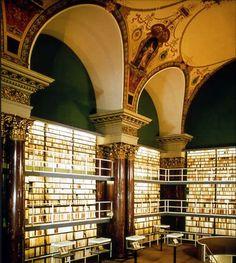 Herzog August Library. A Wolfenbuttel, in Germania