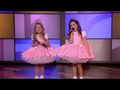 Sophia Grace & Rosie Perform 'I Knew You Were Trouble'