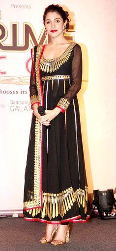 Anushka Sharma Style By olloo Pakistani Couture, Indian Couture, Pakistani Outfits, Indian Outfits, Indian Attire, Indian Wear, Ethnic Fashion, Asian Fashion, Desi Wear