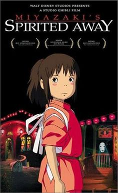 2001 Spirited Away (2001) After her family moves to the suburbs, Chihiro wanders into a magical world where a witch rules -- and those who disobey her are turned into animals. When Chihiro's parents become pigs, she must find a way to help them return to their human form.  Miyazaki at his very best