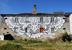 Naperon. Grafiti, Fundão - Portugal