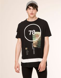 78' PRINT T-SHIRT - NEW PRODUCTS - NEW PRODUCTS - PULL&BEAR Israel
