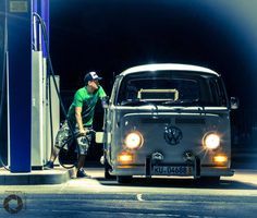 low volkswagen t2