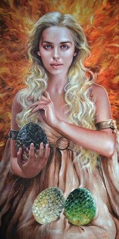 Game of Thrones - Daenerys by Fred Ian *