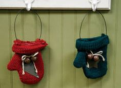 On our November 2013 cover: Holiday Knit Mitten Ornaments from Factory Direct Craft Supply