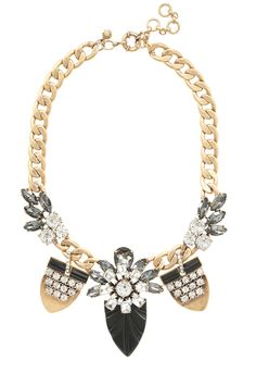 The Extras: Holiday Special. J.Crew necklace, $145, jcrew.com.
