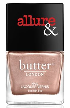 Allure for butter LONDON Nail Lacquer | I'm On The List