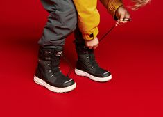These amazing Arctic-proof boots give a grip on wet ice. In Finnish Lapland, going out in minus 20 °C is just a normal winter's day for all kids. No wonder, then, that we always make sure our children have the very best footwear for the very coldest times. #Reima #Winterboots #KidsBoots #KidsShoes #KidsWinterShoes Kids Winter Boots, Kids Boots, Winter Shoes, Very Cold, All Kids, Nordic Design, Arctic, Activities For Kids, Going Out