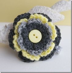 cute flower for headband or beanie
