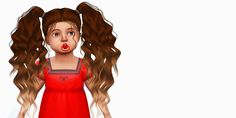 Sims 4 CC's - The Best: LeahLillith Candy Cotton - Toddler Version by Fabi...