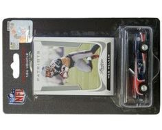 New England Patriots Wes Welker 1:64 Chevy Camaro with Trading Card